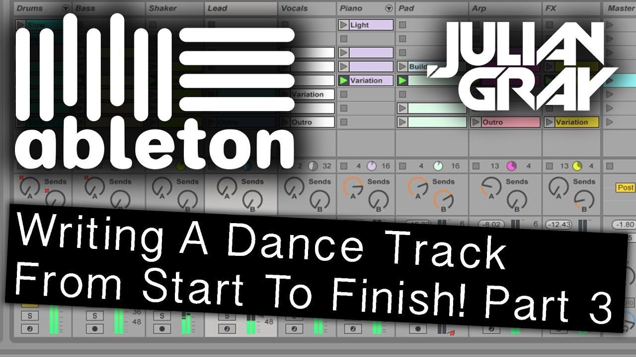 how to add groove to tracks ableton