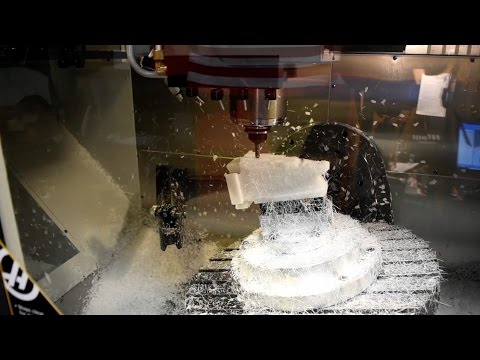 3+2 Machining on 5 Axis Haas - Robey Tool & Machine
