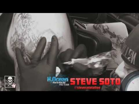 Tattoo Time Lapse with Steve Soto