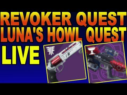Luna's Howl Quest & Revoker Quest On 4th Account! PvP Gameplay Destiny 2 Season Of Dawn