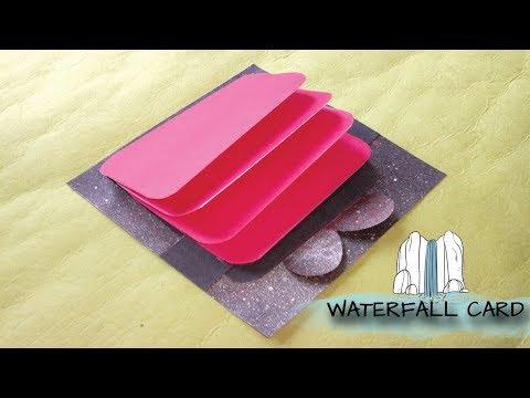 Waterfall Card - DIY Explosion Box Ideas - Paper Craft Series#2