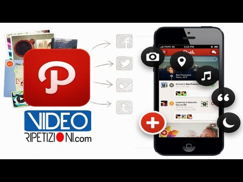 PATH SOCIAL NETWORK COS'E' E COSA FA IN ITALIANO ITA