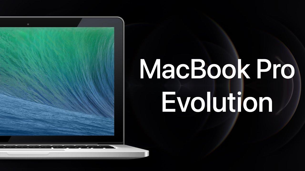 MacBook Pro Evolution (Updated 2021) - YouTube
