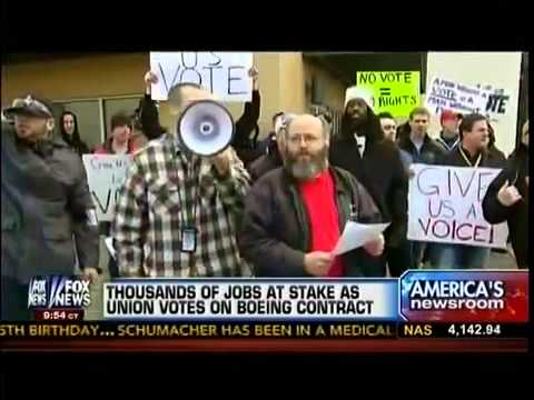 Thousands Of Jobs At Stake As Union Votes On Boeing Contract Offer In Washington State