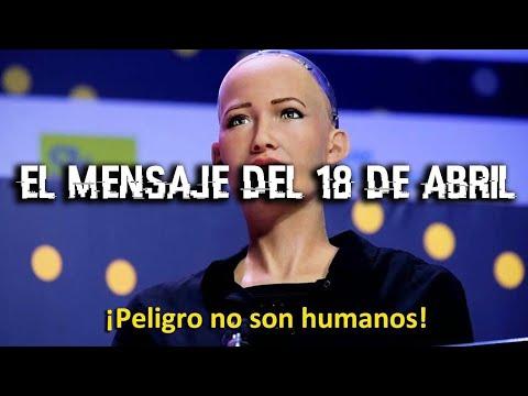 El mensaje secreto del 18 de Abril y la Inteligencia artificial Sofia (Con TheCriminal Arket)