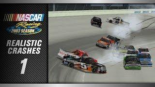 NASCAR Racing 2003 *Realistic* Crashes 1