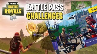 Fortnite | Battle Pass Challenges | Blockbuster Week 6! (Exact Location Found!)