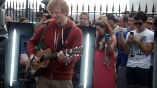 Give Me Love Ed Sheeran Channel V Guerrilla Gig