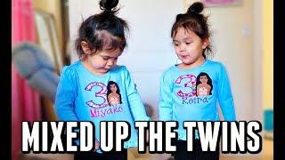 I Mixed Up the Twins! -  ItsJudysLife Vlogs