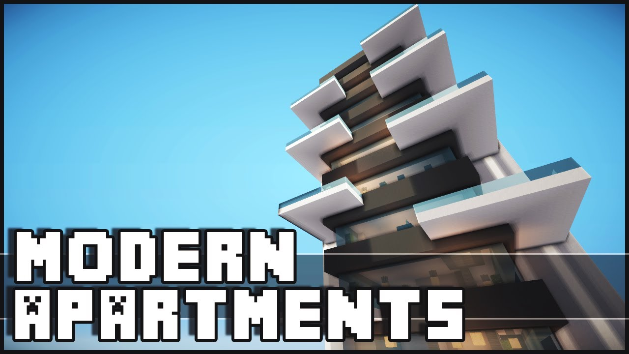 Minecraft Modern Apartments Youtube