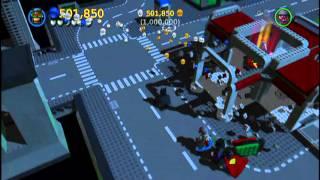 LEGO Batman 2 DC Super Heroes Bonus Level Complete