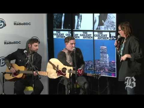 Julie Kramer interviews Gaslight Anthem - RadioBDC