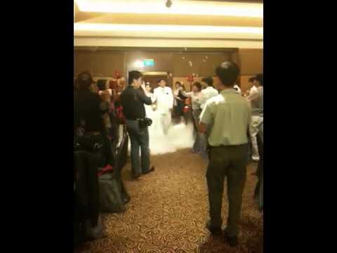 Eelin S Wedding March In Holiday Inn Atrium Hotel