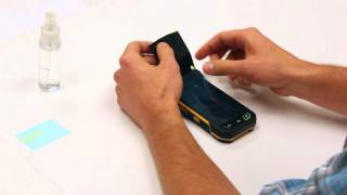 How to apply the screen protector on your Sonim XP7