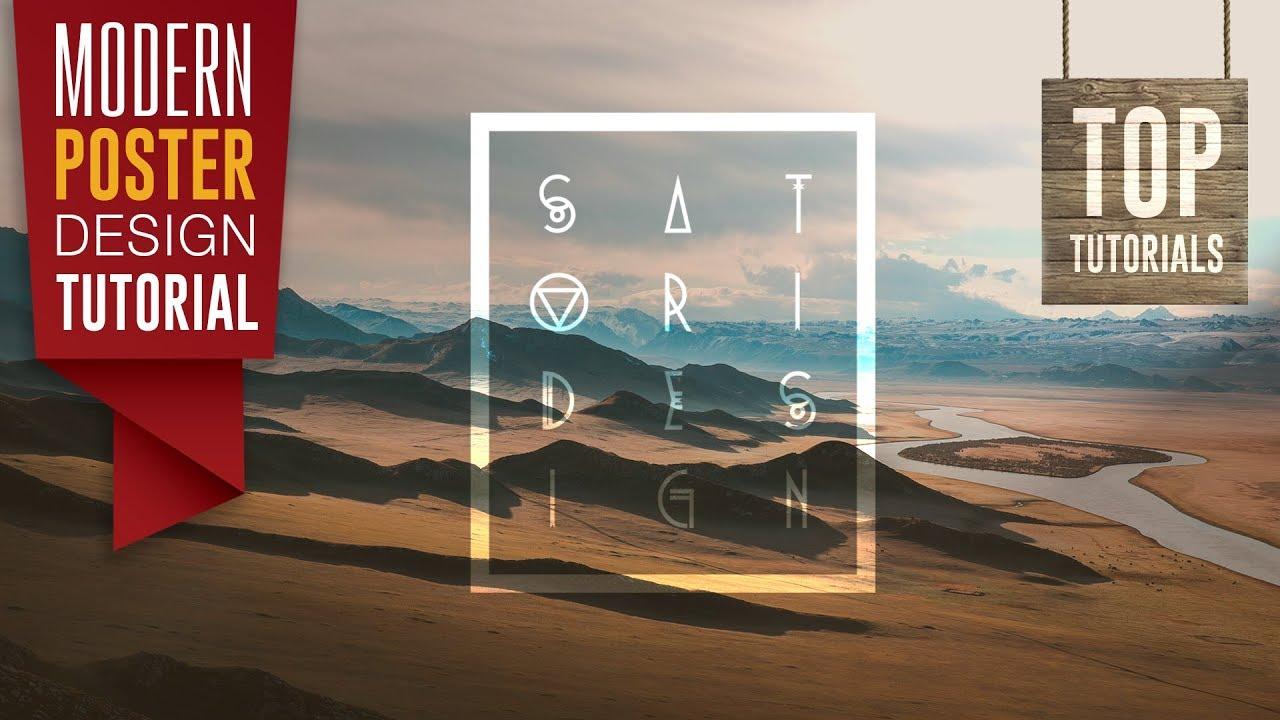 Make a poster design - How To Make A Typography Poster Design Satori Graphics