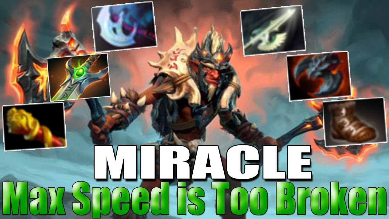 MIRACLE [Troll Warlord] Max Speed is Too Broken | Safe | Best MMR Gameplay – Dota 2