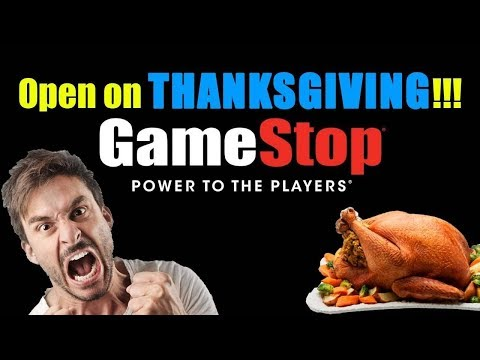 GameStop Thinks It's A Brilliant Idea To RUIN Their Employee's Morale #ThanksGiving
