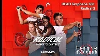 HEAD Graphene 360 Radical S Tennis Racquet Review | Tennis Express
