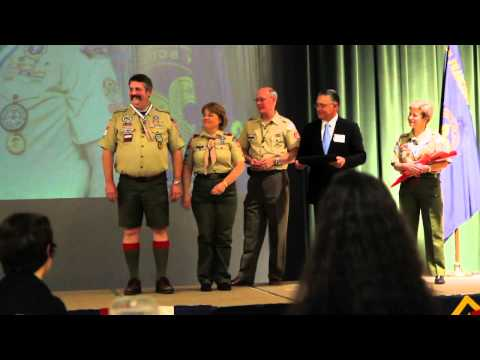 BSA SF Bay Silver Beaver Awards 2011 Part 1
