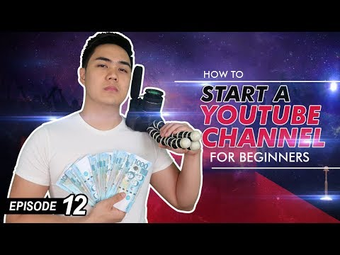 How To Start A YouTube Channel - 5 Steps For Beginners - (Ep #12)