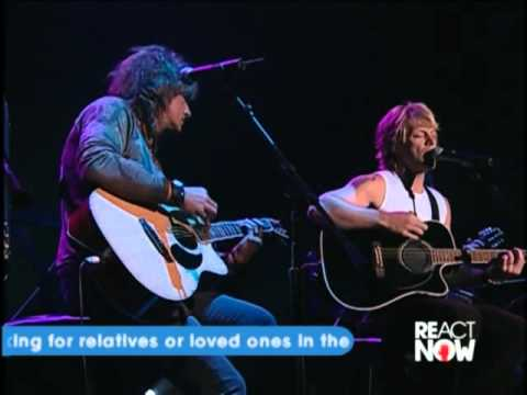 Bon Jovi - Someday I'll Be Saturday Night (acoustic / Chicago 2005)