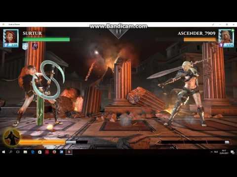 Gods of Rome: Artemis rank 3 vs Hippolyta max power