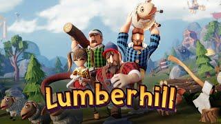 Lumberhill - Un juego COOPERATIVO muy interesante 🚀 - Gameplay Español
