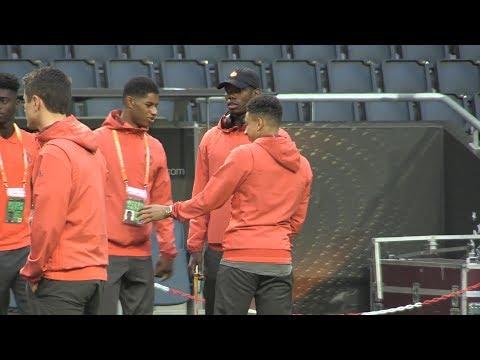 Europa League Final - Manchester United Walk Around The Friends Arena