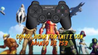 *Como jugar fortnite con mando de ps3* ACTUALIZADO 2021!!!!