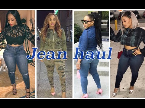 JEAN HAUL /// best jeans for thick women