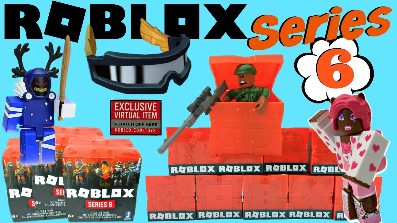 Roblox Series 6 Blind Boxes Code Items Unboxing Youtube