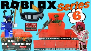 Roblox Toys SERIES 6 Blind Boxes + Code Items [UNBOXING]