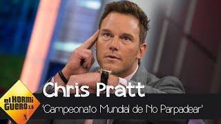 Chris Pratt supera a Ryan Reynolds no parpadeando - El Hormiguero 3.0