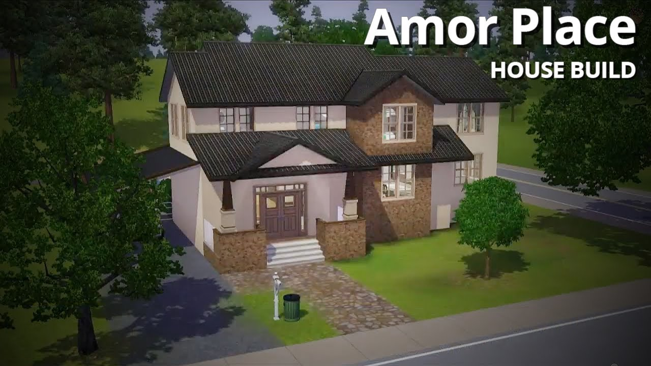 House Building Ideas For Sims