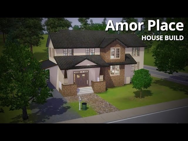 The Sims 3 House Building - Amor Place