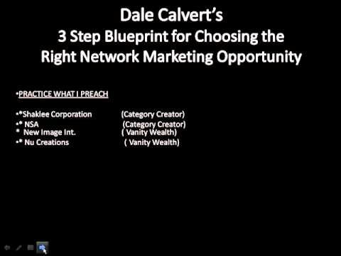 3 Step Blueprint for Finding the Right Network Marketing Opportunity USA SD
