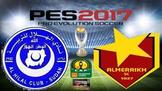 PS4 PES 2017 Gameplay Al Hilal Omdurman vs Al Merreikh Omdurman HD 2017 Video