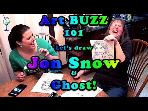ART Buzz 101 | Jon Snow Drawing Drunk