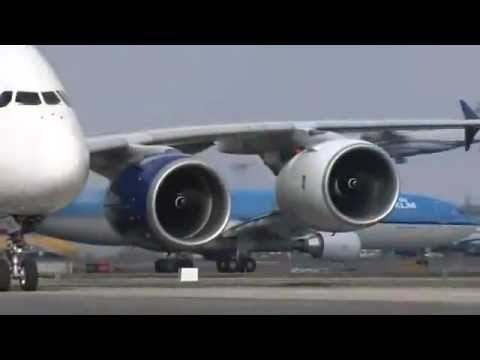 first flight for the trent xwb on the a380 test bed youtube