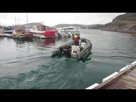 Bombard in Arctic Waters, Hammerfest