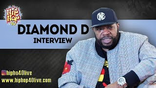 Hip Hop 40 Episode 12: Featuring Diamond D