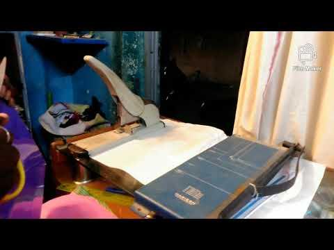 Book binding in house