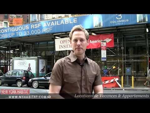 """New York - """"Le Long de Broadway"""": Visite Guidée de Colombus Circle, Manhattan"""