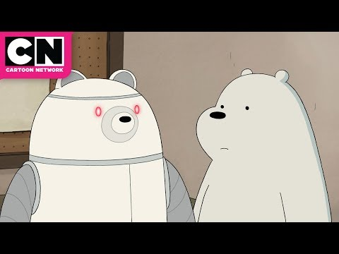 We Bare Bears | Ice Bear and his Butler Robot | Cartoon Network