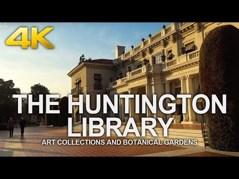 4K Walking Tour | The Huntington Library Art Collections And Botanical Gardens 헌팅턴 도서관