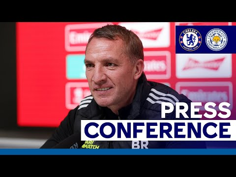 'Our Ambition Is To Win It' - Brendan Rodgers   Emirates FA Cup Final   2020/21