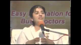 08 Easy Meditation For Busy Doctors By BK Shivani 15.08.2015
