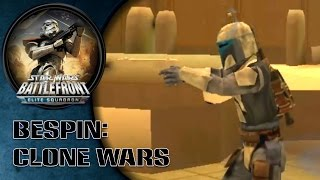 Star Wars Battlefront: Elite Squadron (PSP) HD Gameplay: Bespin | Clone Wars