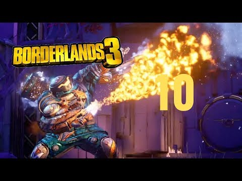 Borderlands 3 Gameplay Walkthrough Part 10 - Captain Traunt Boss Fight (PS4 1080p 60fps)