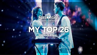 Eurovision 2019: My Top 26 (Grand Final)